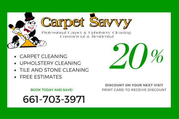 Carpet Savvy Coupon